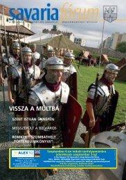 """szombathely """"történelemkönyve"""" - Savaria Fórum"""