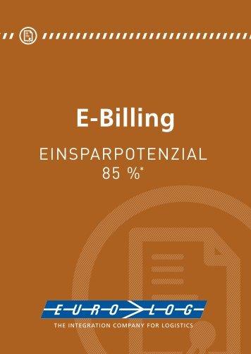 Das E-Billing System von EURO-LOG