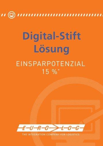 Digital-Stift Lösung - EURO-LOG