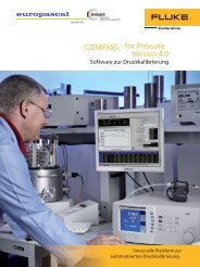 Datenblatt Compass for pressure (Pdf) - Europascal GmbH