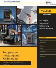 Datenblatt Industrielle Temperaturkalibrierung Produktübersicht (Pdf)