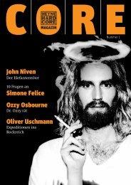 John Niven Simone Felice Ozzy Osbourne Oliver ... - Heyne Hardcore