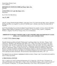 BIEDERMANN MOTECH GMBH and Depuy Spine, Inc, Plaintiffs