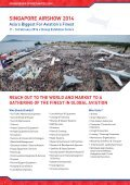 SPONSORSHIP OPPORTUNITIES 2014 - Singapore Airshow - Page 4