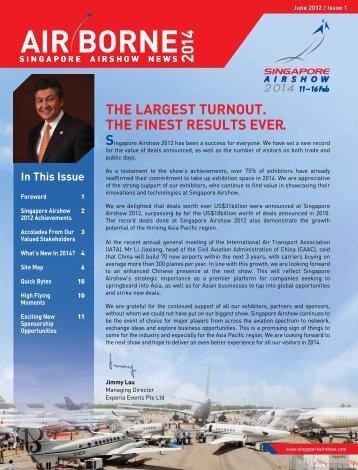 AIR BORNE - Singapore Airshow