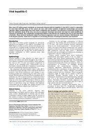 Viral Hepatitis C - Lancet 2003 - Temple University