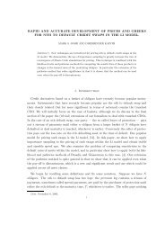 RAPID AND ACCURATE DEVELOPMENT OF PRICES AND ... - Free