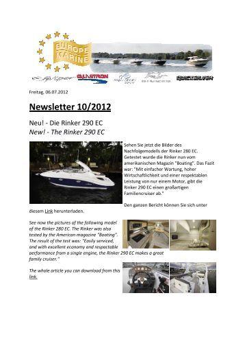 Newsletter 2012_10.pdf - Europe Marine
