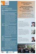 Programm A³ Wirtschaftsdialog zum Thema Corporate Compliance ... - Page 2