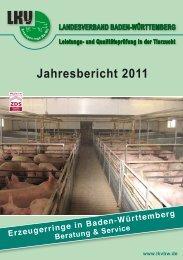 Jahresbericht der Erzeugerringe 2011 - Landesverband Baden ...