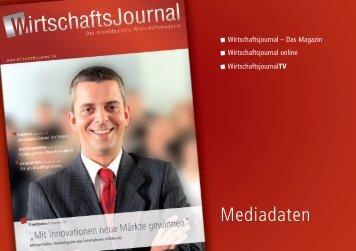 Mediadaten downloaden - Wirtschaftsjournal