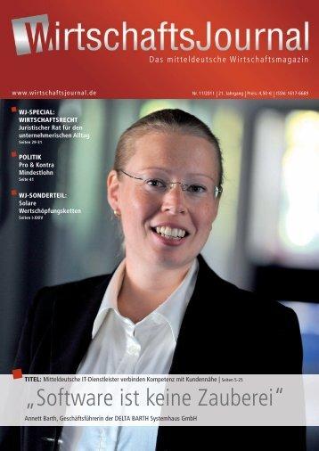 E-Book Wirtschaftsjournal November 2011