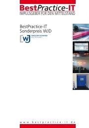 BestPractice-IT Sonderpreis WJD - Gemeinhardt AG