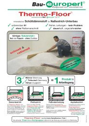 Thermo-Floor - Europerl