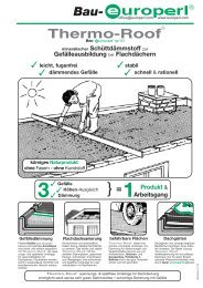 Thermo-Roof - Europerl