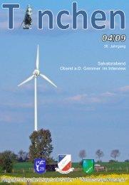 Interview mit Oberst a.D. Grimmer, Salvatorabend ... - Tinchen