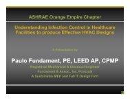 Best Hospital Design for Airborne Infection Control - ASHRAE ...