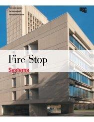Fire Stop Systems Brochure SA727 - USG Corporation