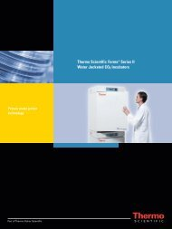 Thermo Scientific Forma® Series II Water Jacketed CO2 ... - TS Labor