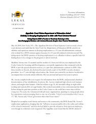 Appellate Court Rules DOE Acted Unfairly - MFY Legal Services