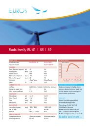 Blade family EU 51 | 55 | 59 - EUROS Entwicklungsgesellschaft für ...