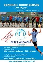 Programmheft 05.01.2013 - NHV Concordia Delitzsch 2010 eV