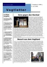 Vogtletter - Schwanitz, Rolf