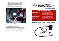 Einbauanleitung Hyundai Santa Fe - EuroTec