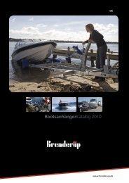 Brenderup Bootsanhänger Katalog