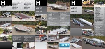 Hapert Transporter H- und G-Serie