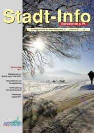 Stadt-Info 7. Februar 2011 Nr. 1 - Seekirchen am Wallersee