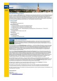 WSP aktuell, Ausgabe Januar 2012 - Wirtschaft und Stadtmarketing ...