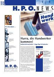 Hand werk - HPO Wirtschaftspartner