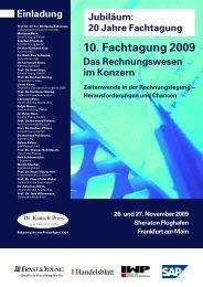 10. Fachtagung 2009