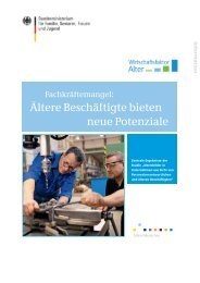 Fachkräftemangel: Ältere Beschäftigte bieten neue Potenziale