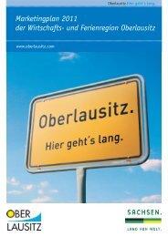 Marketingplan 2011 der Wirtschafts- und Ferienregion Oberlausitz