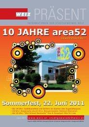 Abfallkalender 2011 - Weiz