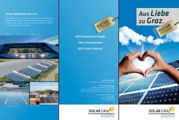 Aus Liebe zu Graz. - Solar Graz