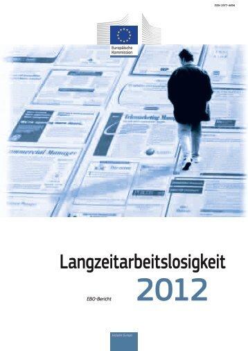 Langzeitarbeitslosigkeit - European Commission - Europa