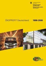 ÖKOPROFIT Deutschland 1998-2008 - Wirtschaft