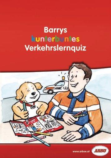 Barrys kunterbuntes Verkehrslernquiz