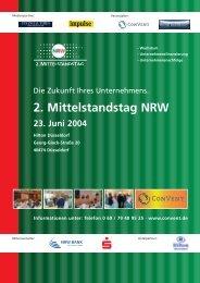 2. Mittelstandstag NRW - Convent