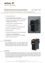 Produktinformation_471M41H31 | Katalog ... - Elobau