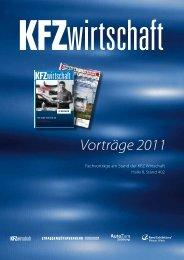 AutoZum 2011, Fachvorträge am Stand der KFZ ... - Automotive