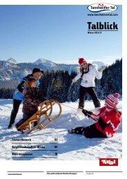 Talblick - Download brochures from Austria
