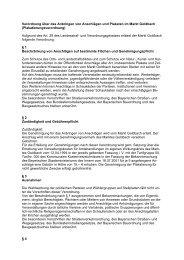 Verordnung über das Anbringen von Anschlägen und ... - Goldbach