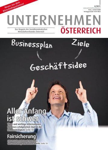 INFO - Sozialdemokratischer Wirtschaftsverband Österreich