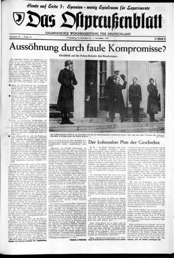 Folge 49 vom 06.12.1975 - Archiv Preussische Allgemeine Zeitung