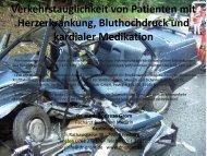 Verkehrstauglichkeit von Patienten mit Herzerkrankung ...