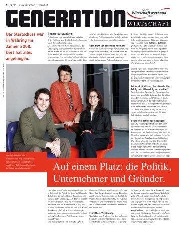 Download Ausgabe Mai 2009 - Junger Wirtschaftsverband